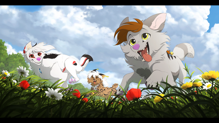 Through the Meadow by Nightrizer