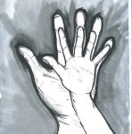 Father and Daughter's hands by LunaBelleHadley