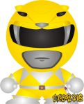 Mighty Morphin' - Yellow by Gillbob316