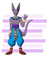 Beerus the Destroyer by RatteMacchiato