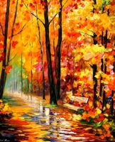 GOLD IMRESSION by Leonid Afremov by Leonidafremov