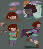 Chisk doodles by Channydraws
