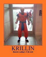 Awesome cosplayer: Krillin by MasterRBG