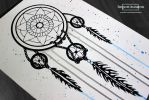 Watercolour Dreamcatcher :) by ImportAutumn