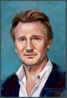 Liam Neeson (kind)) by ladunya