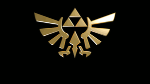 The Legend of Zelda Logo Spin by CeeEmKay