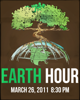 Earth Hour 2011 by karesthetic