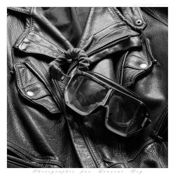 My old leather Jacket and Climax - 001 by laurentroy