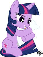 Twilight Sparkle: I only have you in my mind. by TBCroco