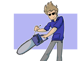 Chainsaw by Ravenfeather788