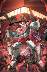 TF Dark Cybertron #4 cover colors by khaamar