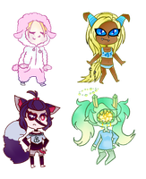 [Art Payment]: Crayon Cheebs Batch 8 by SimplyDefault