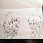 Trying to draw Mileena by Riyana2