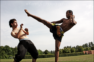 ...muay thai... by kennysphotography