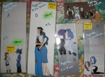 Bookmarks - $2 ea. Set 01 by Aisuryuu