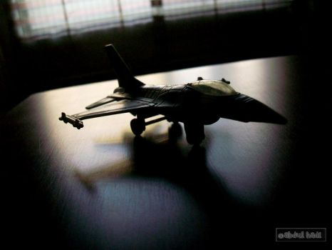 f-16 model by abdulhadimulkana