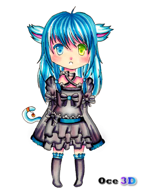 Justice Ecclesia - Chibi by Oce3D