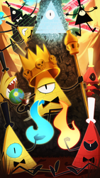 BILL CIPHER by The--Magpie