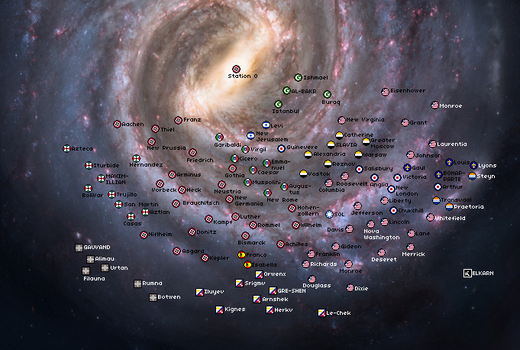 Land of Confusion- Galaxy Map: 2301(Preview) by Beastboss