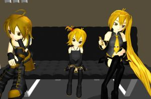 MMD Akita's family House Download by Party-P