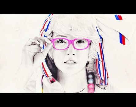 Mixed Pencil: Gongchan from B1A4 by vt2000