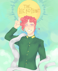 The Hierophant by Squisma