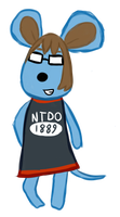 Me as an animal crossing villager? by Zanreo
