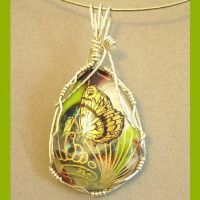 Silver Wrapped Butterfly by CreatedWithFire