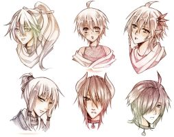 HS Sketch commission Batch - 5 by Furihime