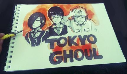 Tokyo Ghoul by Rivaiye