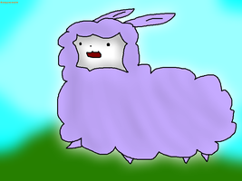 Me as a alpaca by thisisspartacat1230