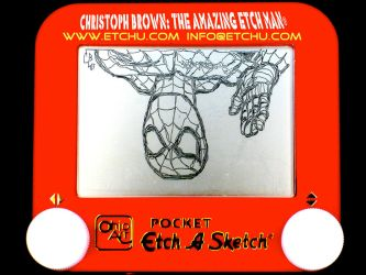 2.1 Spiderman Etch A Sketch by EtchUProductions