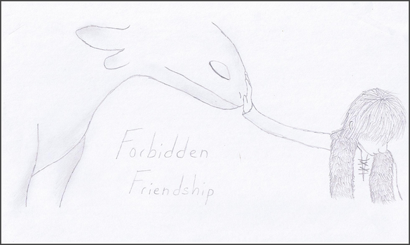 Forbidden Friendship Sketch by Mirka-Dragon