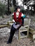 Morrigan Cosplay by Jade-Viper