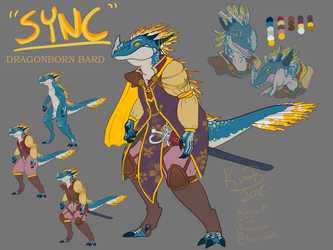 DnD Character Reference - Sync by phantos