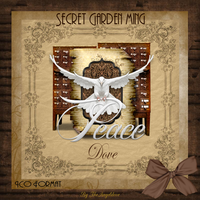 Secret Gaden Dove (Peace and New Years) by TheAngeldove
