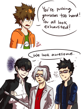 KHR - We Look Awesome by fluffykitteh258