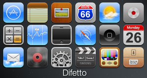 Difetto- iPhone Theme by jacksond1
