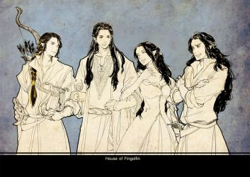 House of Fingolfin by luthienelf