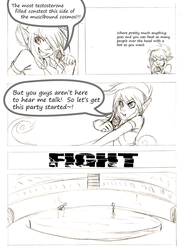 Fighting Tournament Audition Pg2 by FuyusFox