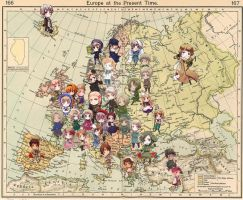 APH: Map of Europe vers.II by Zal001