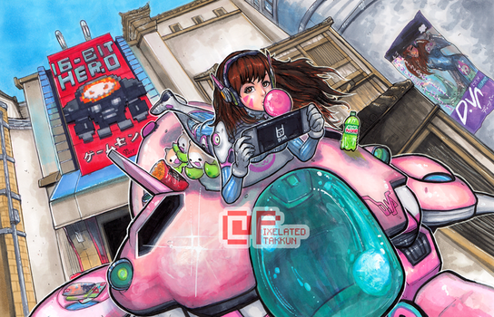 Love, D.Va by Pixelated-Takkun