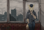 There is No Sun (YCH) by Kate-Venom