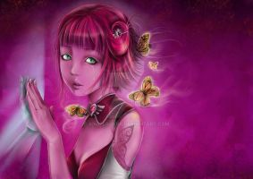 My butterflies by AngelaLara