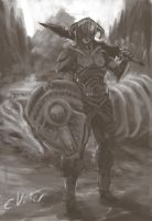 Skyrim character by Psycuror