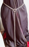 Chain Celtic Knot Accent Belt by hwkwlf