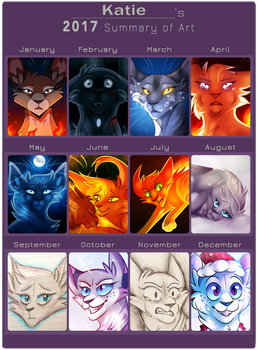 2017 Art Summary by KatieR66