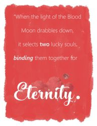 When the light of the Blood Moon drabbles down... by Kikithefox231