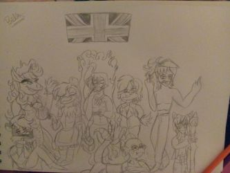 The British peeps UNITE by bellablossomyoutube