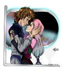 Space Age Love -Noah and Sabriel by GlyphBellchime